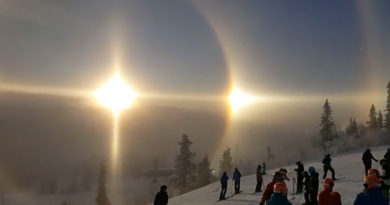 Rare Weather Phenomenon Spotted in Sweden